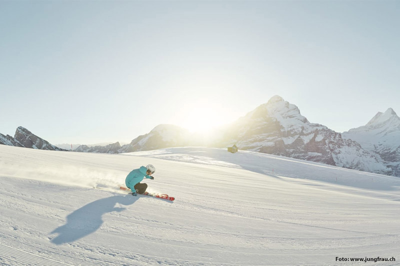 Skifahren im Skigebiet Grindelwald-First