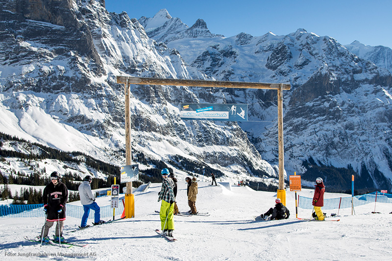 White Elements Snowpark Grindelwald