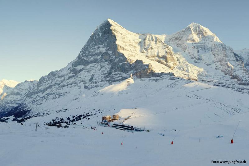 Pistenpanorama Grindelwald-Wengen