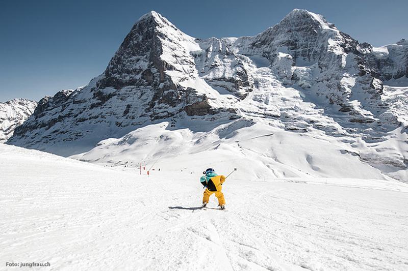 Skifahren in der Jungfrauregion
