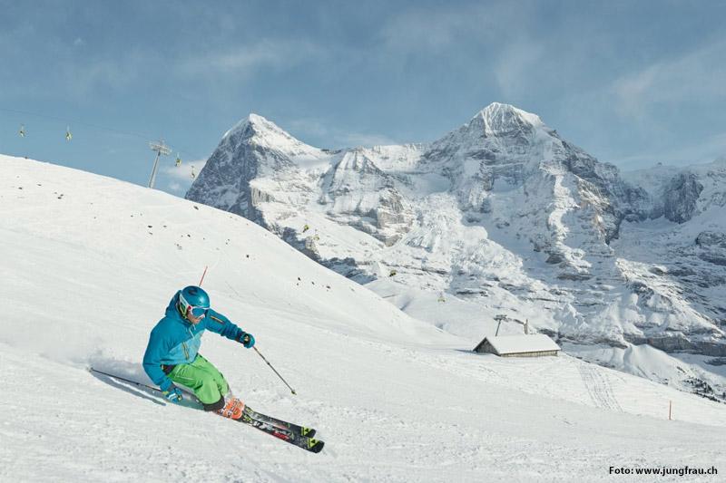 Skifahren in Grindelwald-Wengen
