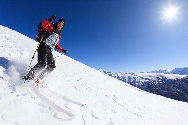 Skifahren im Tauferer Ahrntal