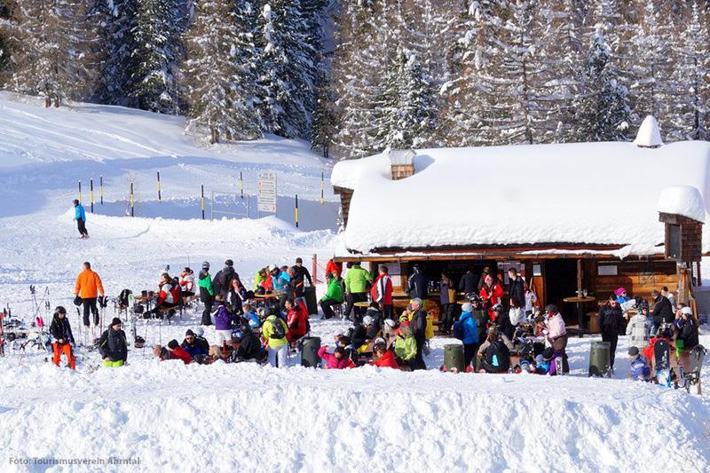 Almen, Skihütten und Après Ski am Speikboden