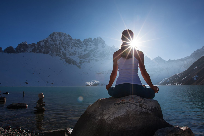 Yoga mit diplomierter, hoteleigener Yogalehrerin