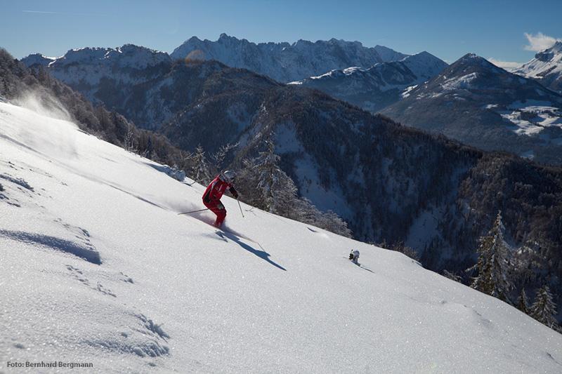 Skifahren im Skigebiet Hochkössen