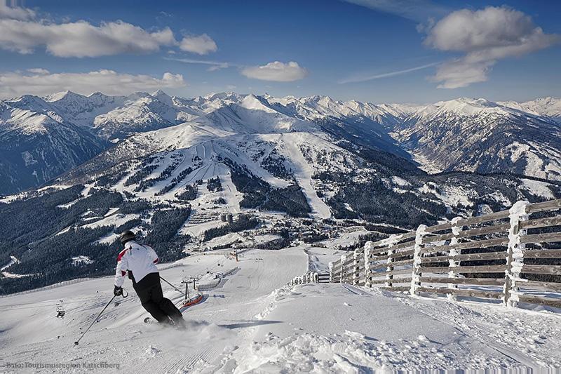 Skifahren im Skigebiet Katschberg
