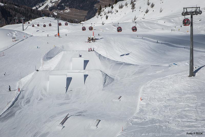 Funpark Funtaklaus auf 2.400 Metern Höhe