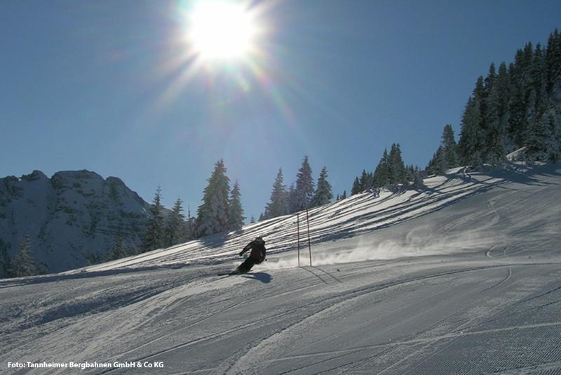 Skifahren im Skigebiet Neunerköpfle