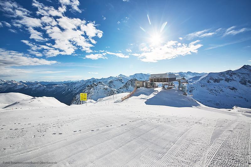 Bergbahnstation im Skigebiet Obertauern