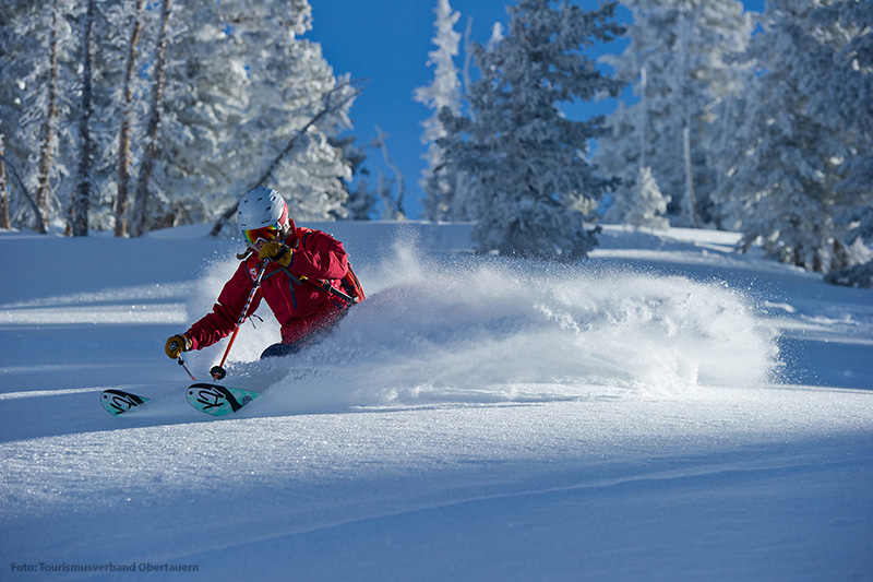 Skifahren im Skigebiet Obertauern