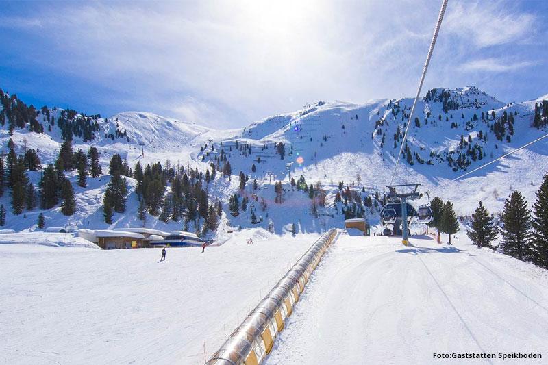 Skifahren in Speikboden im Ahrntal