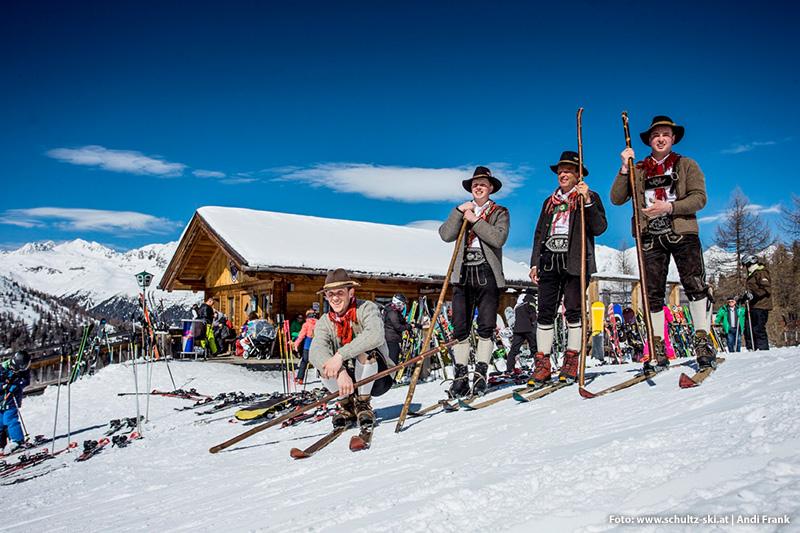 Skifahren im Defereggental