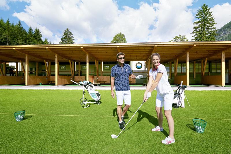 Schwungvolle Woche am Golfplatz Achensee