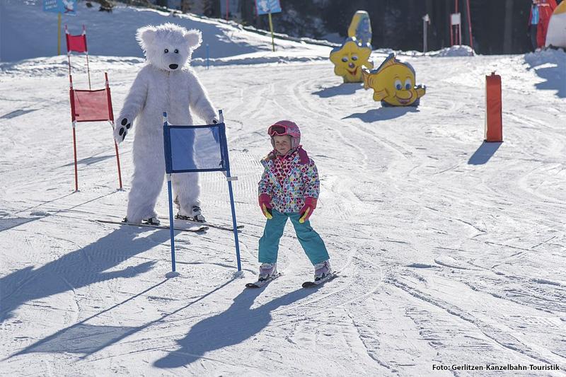 Kinderpark Gerlitzen mit Bino-Bär