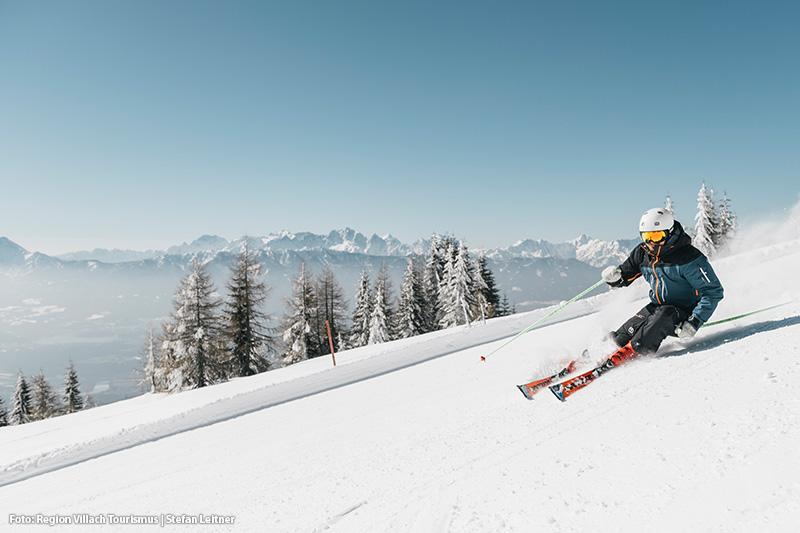 Skifahren im Skigebiet Gerlitzen Alpe