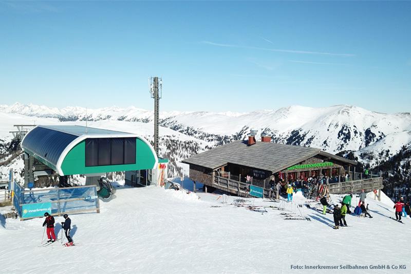 Bergbahn an der Grünleitennockhütte