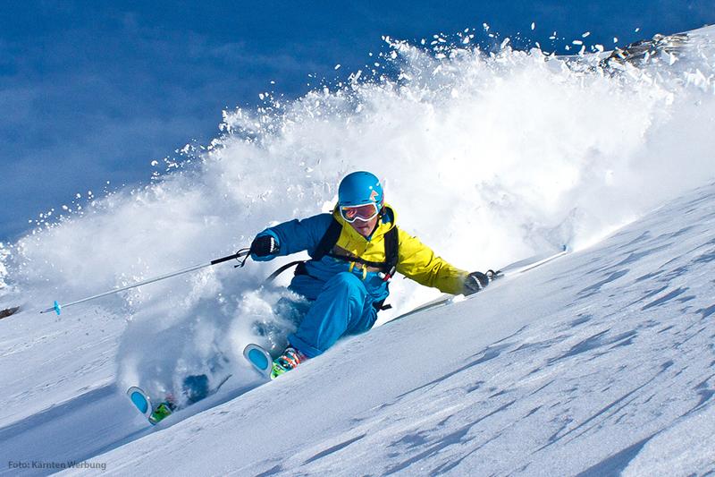 Skifahren im Skigebiet Innerkrems