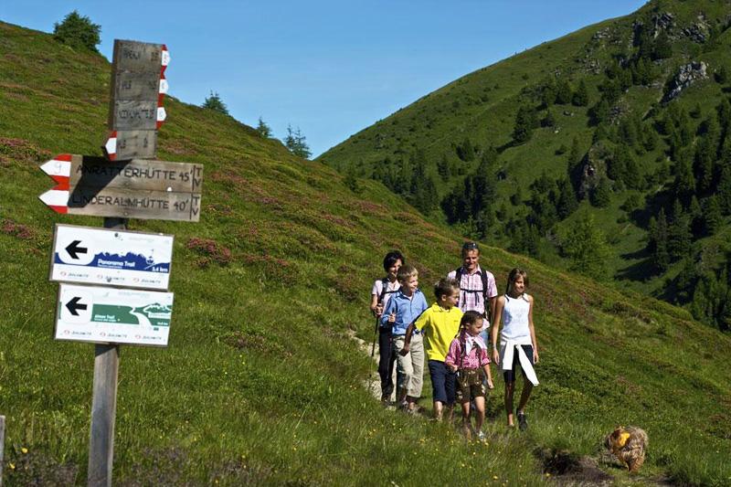 Familienwanderung im Pustertal