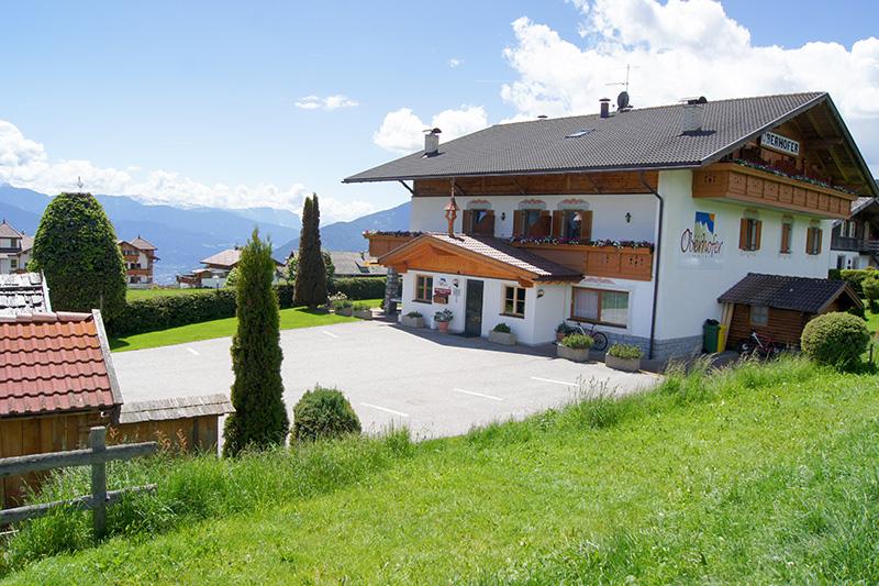 Sommerurlaub im Hotel Oberhofer in Meransen oberhalb des Pustertals in Südtirol