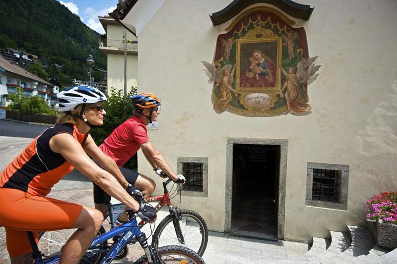Mountainbiken mit dem Hotel Oberhofer