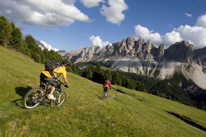 Der gratis Mountainbikeverleih im Hotel Oberhofer ist ideal