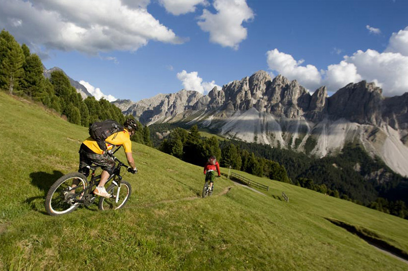 Gratis Mountainbikeverleih im Hotel Oberhofer