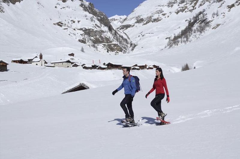 Schneeschuhwandern in Meransen und Umgebung