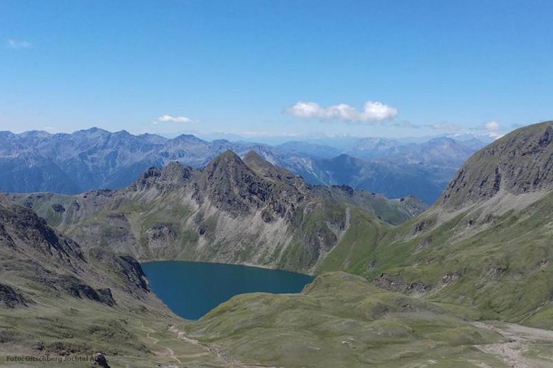 Die Bergseen sind nur bedingt badetauglich. Vor allem sollte man nicht zimperlich sein!