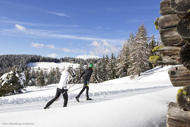 Im Skigebiet Gitschberg Jochtal erwarten Dich Loipen in allen Schwierigkeitsgraden