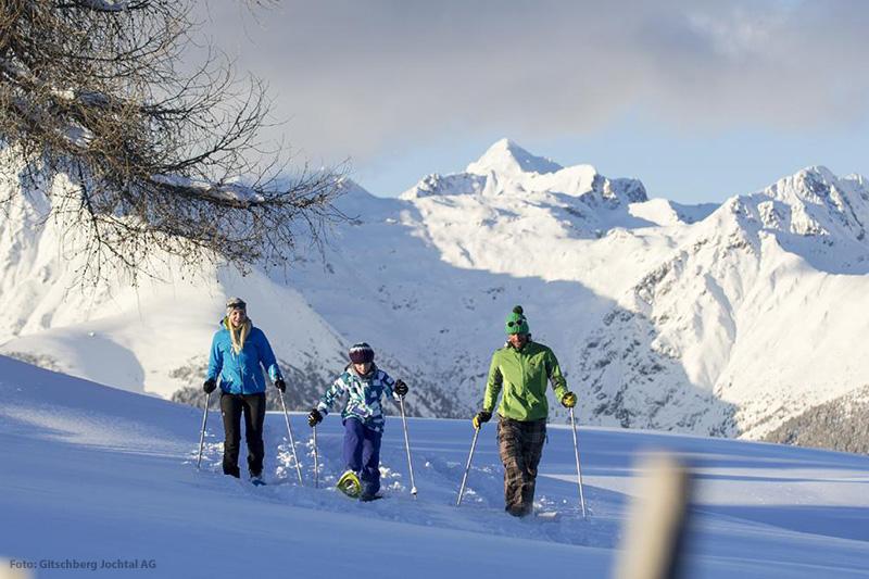 Schneeschuhwandern in Südtirol geht in Meransen ebenfalls hervorragend