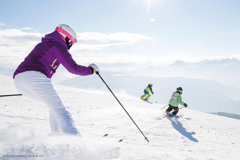 Skifahren am Gitschberg in Südtirol - unser Hoteltipp ist das Hotel Oberhofer in Meransen
