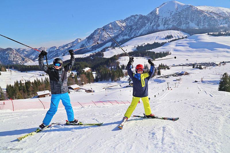 Skifahren im Skigebiet Postalm