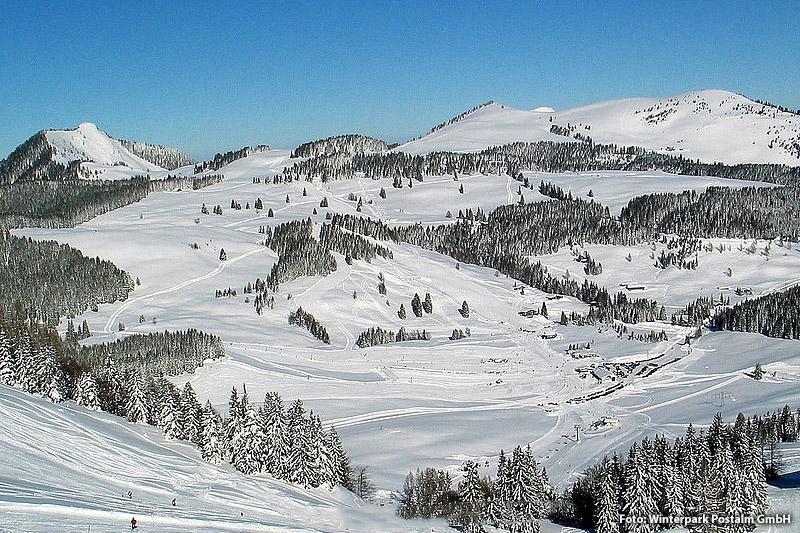 Skiurlaub im Skigebiet Postalm