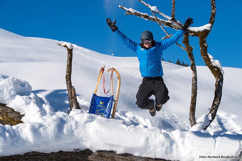 Winterspaß in Oberbayern