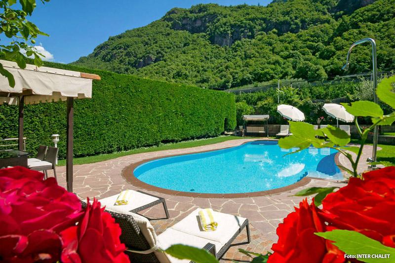 Ferienanlage mit Pool in Burgstall (Etschtal)