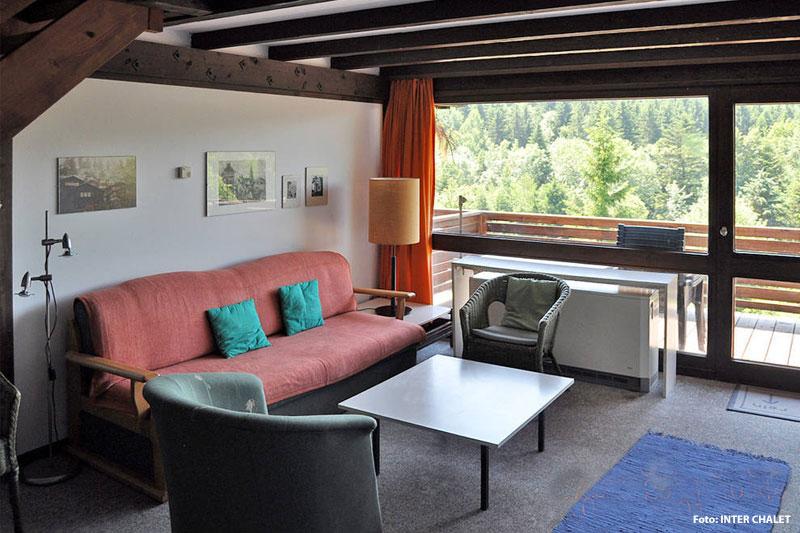 Beispiel Wohnzimmer eines Ferienhauses