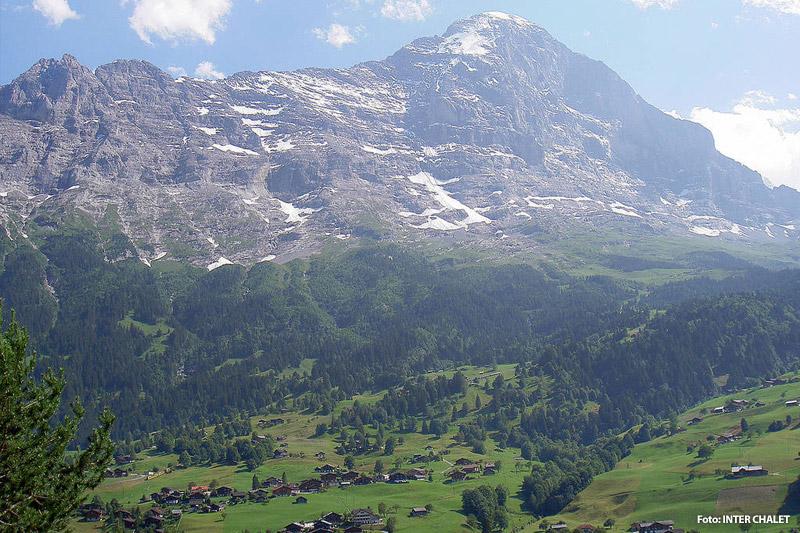 Ortsansicht Grindelwald im Berner Oberland