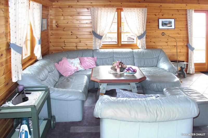 Beispiel Wohnraum Wohnung im Wallis