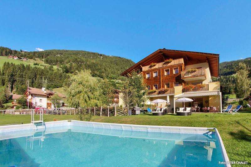Wohnung mit Pool im Ultental