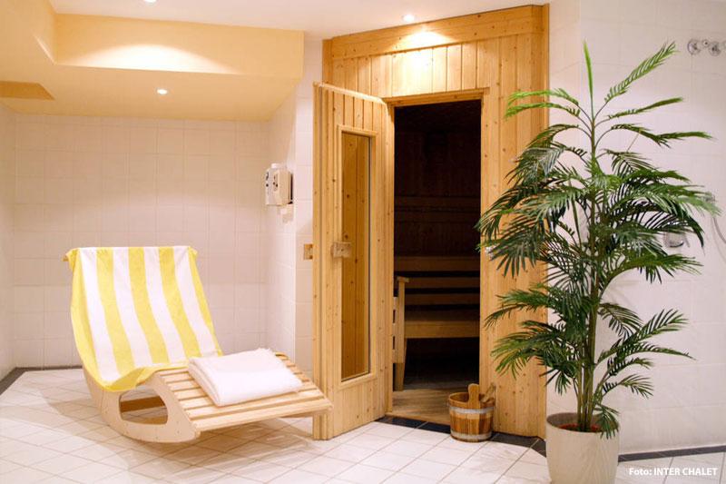Ferienhäuser mit eigener Sauna