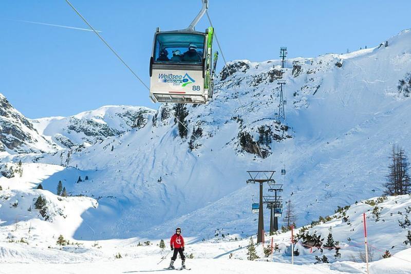 Bergbahn in die Weißsee Gletscherwelt