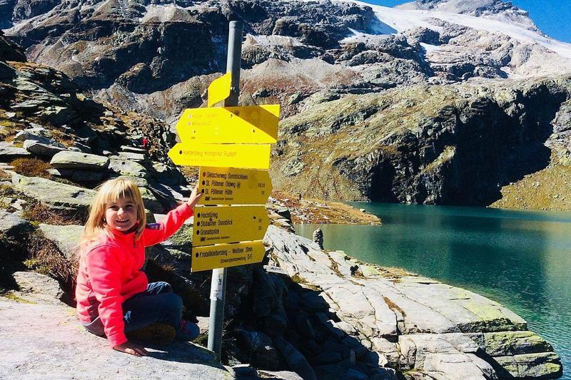 Familienwanderung in der Weißsee Gletscherwelt