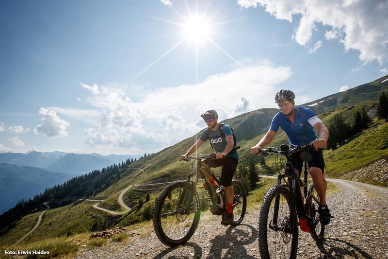 Mountainbiken - grandiose Aussichten sind garantiert