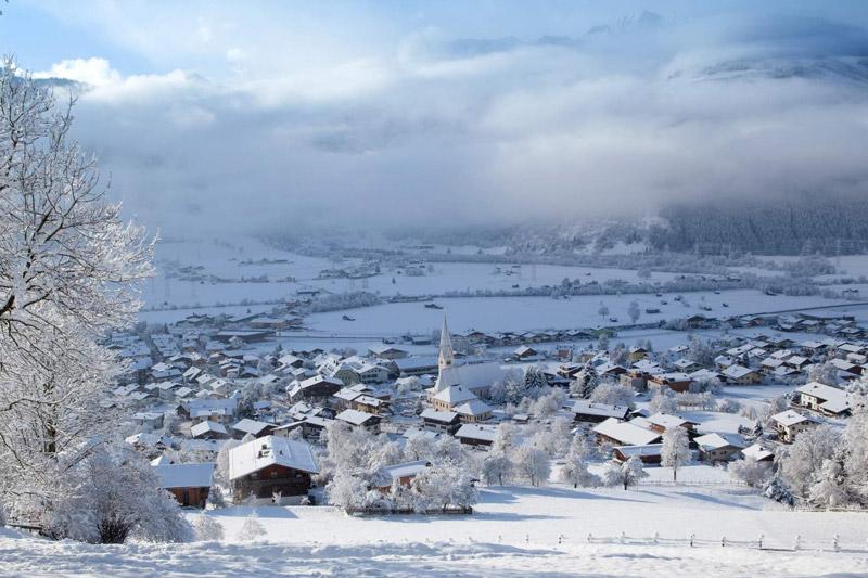 Uttendorf im Winter
