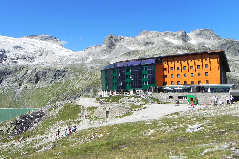 Sommerurlaub im Berghotel Rudolfshütte
