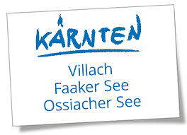 Villach Warmbad - Faaker See - Ossiacher See-Logo