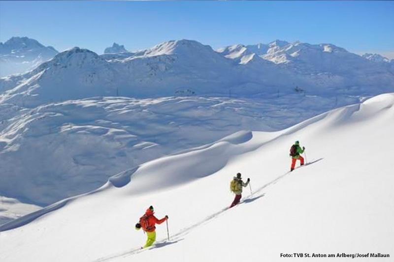 Skitouren gehen am Arlberg
