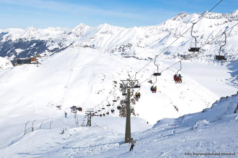 Skifahren auf 1.480 - 2.600 m