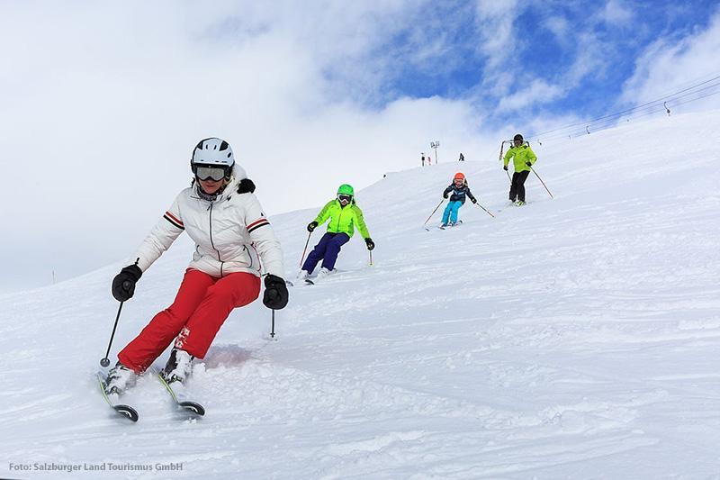 Das Skigebiet bietet 23 km präparierte Skipisten