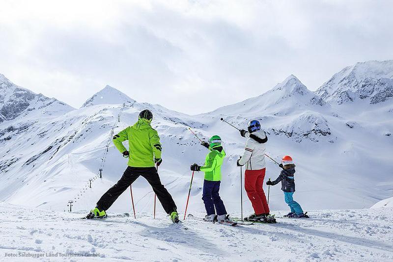 Skifahren umrahmt von der imposanten Natur des Nationalparks Hohe Tauern